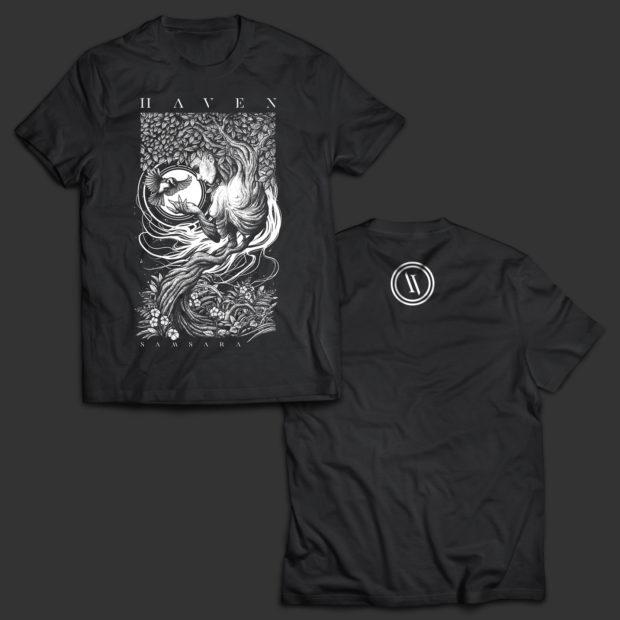 "HAVEN T-Shirt ""Samsara"" by Sepsyz Art"